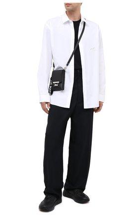 Мужская кожаная сумка VIC MATIE черного цвета, арт. 1Y0508T.999Y140101 | Фото 2