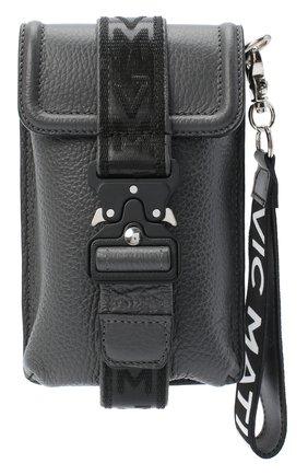 Мужская кожаная сумка VIC MATIE темно-серого цвета, арт. 1Y0506T.999X160150 | Фото 1