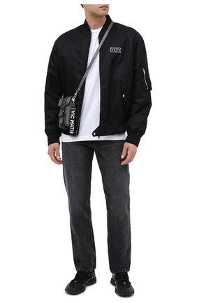 Мужская кожаная сумка VIC MATIE темно-серого цвета, арт. 1Y0506T.999X160150 | Фото 2