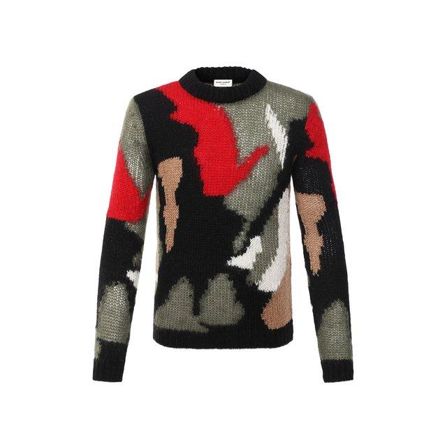 Шерстяной свитер Saint Laurent