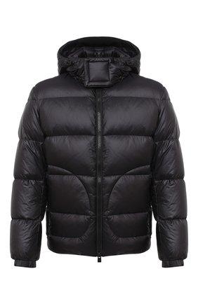 Мужская пуховая куртка BOSS черного цвета, арт. 50436643   Фото 1