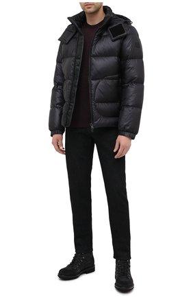 Мужская пуховая куртка BOSS черного цвета, арт. 50436643   Фото 2