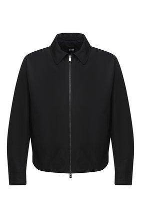Мужская куртка BOSS черного цвета, арт. 50437299 | Фото 1
