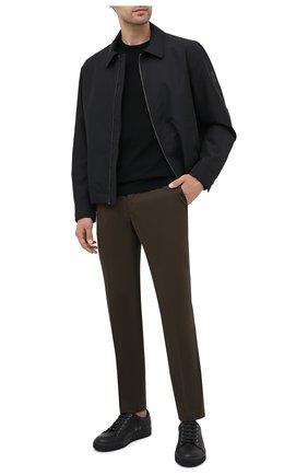 Мужская куртка BOSS черного цвета, арт. 50437299 | Фото 2