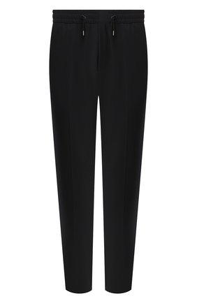Мужской шерстяные брюки HUGO черного цвета, арт. 50440943 | Фото 1