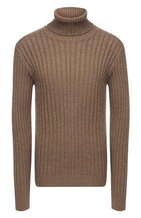 Мужской шерстяной свитер GUCCI бежевого цвета, арт. 626086/XKBE7 | Фото 1