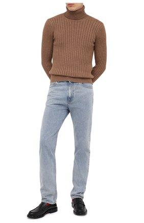 Мужской шерстяной свитер GUCCI бежевого цвета, арт. 626086/XKBE7 | Фото 2