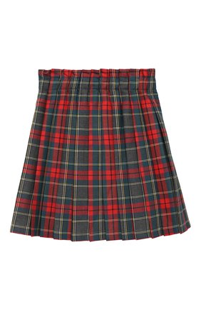 Детская юбка ALETTA серого цвета, арт. AF000439QL/4A-8A | Фото 2