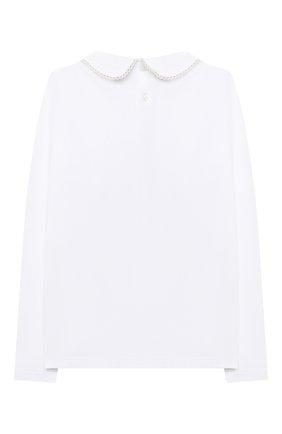 Детское блузка ALETTA белого цвета, арт. AJ000468ML/4A-8A | Фото 2