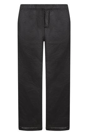 Детские утепленные брюки ALETTA черного цвета, арт. AM000602I/9A-16A | Фото 1
