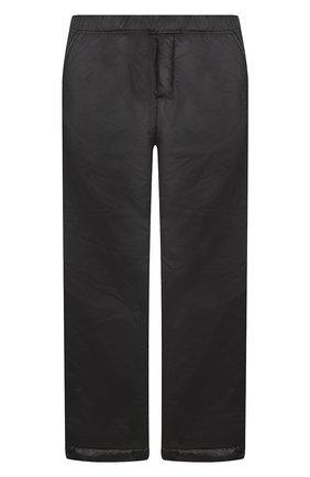 Детские утепленные брюки ALETTA черного цвета, арт. AM000602I/4A-8A | Фото 1