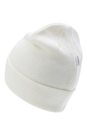 Детского шерстяная шапка IL TRENINO белого цвета, арт. 20 4059/LR | Фото 2