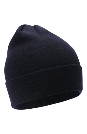 Детского шерстяная шапка IL TRENINO темно-синего цвета, арт. 20 4059/LR | Фото 1