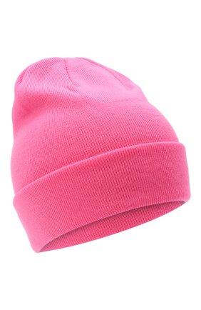 Детского шерстяная шапка IL TRENINO розового цвета, арт. 20 4059/LR | Фото 1