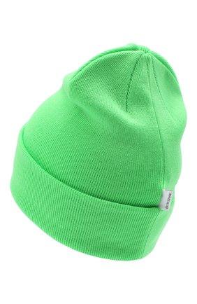 Детского шерстяная шапка IL TRENINO салатового цвета, арт. 20 4059/LR | Фото 2