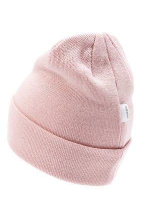 Детского шерстяная шапка IL TRENINO розового цвета, арт. 20 4059/LR | Фото 2