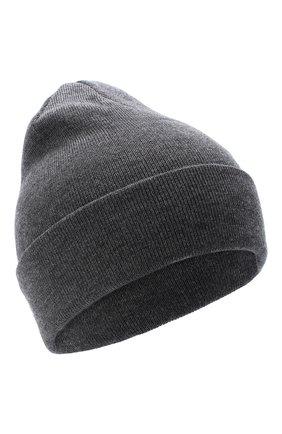 Детского шерстяная шапка IL TRENINO темно-серого цвета, арт. 20 4059/LR | Фото 1
