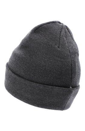 Детского шерстяная шапка IL TRENINO темно-серого цвета, арт. 20 4059/LR | Фото 2