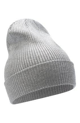 Детского шерстяная шапка IL TRENINO серого цвета, арт. 20 7990/E0 | Фото 1
