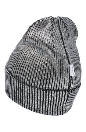 Детского шерстяная шапка IL TRENINO темно-синего цвета, арт. 20 7990/E0 | Фото 2