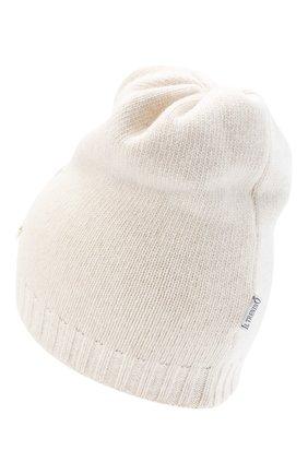 Детского шерстяная шапка IL TRENINO бежевого цвета, арт. 20 8183/E0 | Фото 2