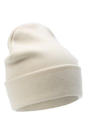 Детского шерстяная шапка IL TRENINO белого цвета, арт. 20 8217/LR | Фото 1