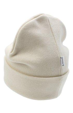 Детского шерстяная шапка IL TRENINO белого цвета, арт. 20 8217/LR | Фото 2