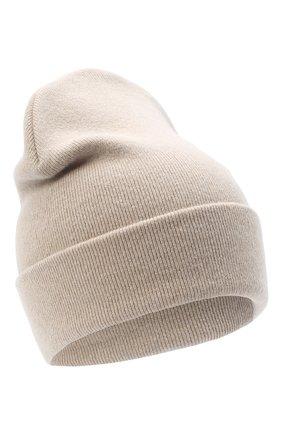 Детского шерстяная шапка IL TRENINO бежевого цвета, арт. 20 8217/LR | Фото 1
