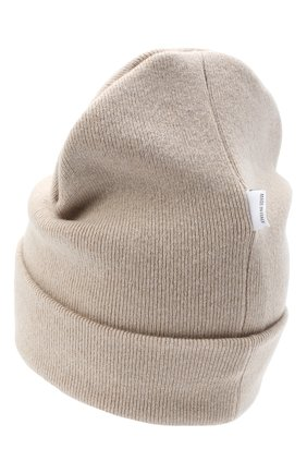 Детского шерстяная шапка IL TRENINO бежевого цвета, арт. 20 8217/LR | Фото 2