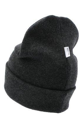 Детского шерстяная шапка IL TRENINO темно-серого цвета, арт. 20 8217/LR | Фото 2