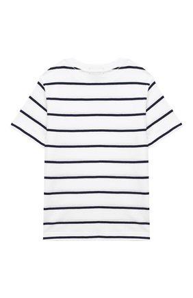 Детская хлопковая футболка POLO RALPH LAUREN разноцветного цвета, арт. 322786411 | Фото 2