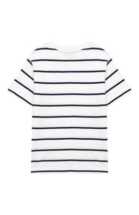 Детская хлопковая футболка POLO RALPH LAUREN разноцветного цвета, арт. 321786411 | Фото 2