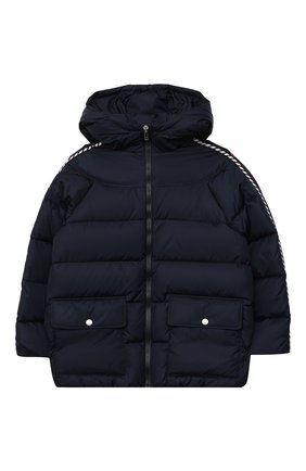 Детского пуховая куртка GUCCI синего цвета, арт. 622831/XWAK7   Фото 1