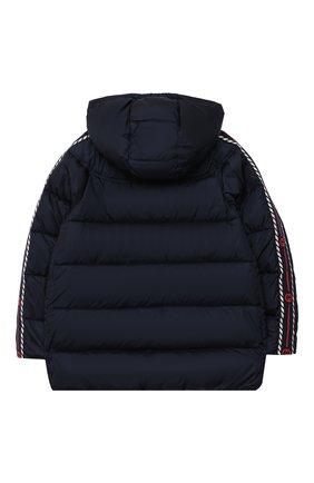 Детского пуховая куртка GUCCI синего цвета, арт. 622831/XWAK7   Фото 2