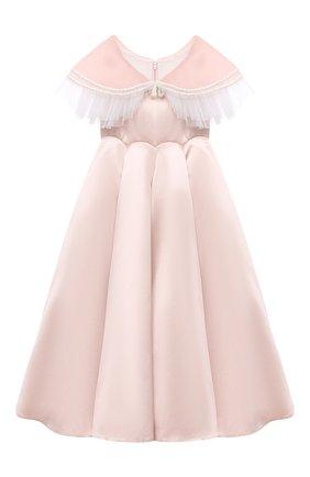 Детское платье BIBIONA розового цвета, арт. ABL01SS20 | Фото 1