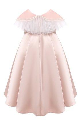 Детское платье BIBIONA розового цвета, арт. ABL01SS20 | Фото 2