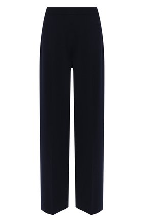 Женские брюки из кашемира и шелка LORO PIANA темно-синего цвета, арт. FAL2678 | Фото 1