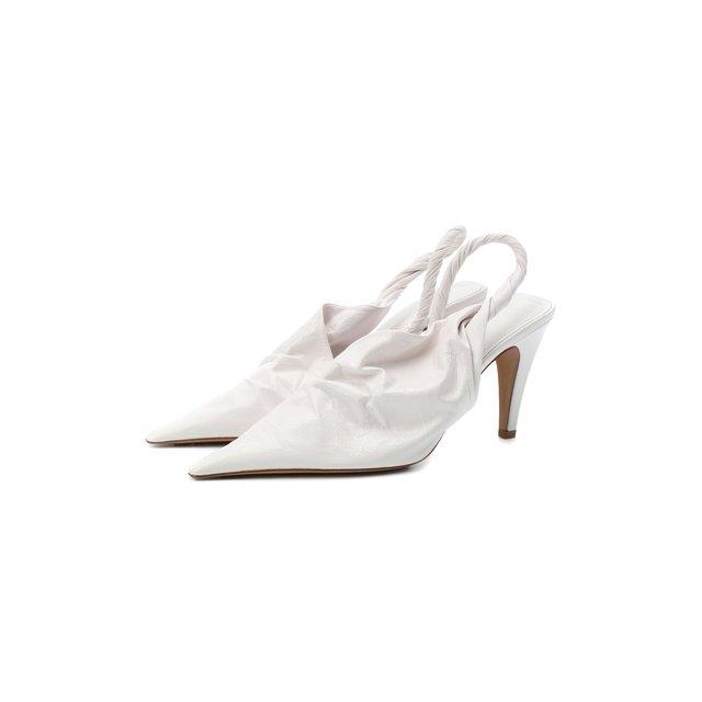 Кожаные туфли BV Point Bottega Veneta
