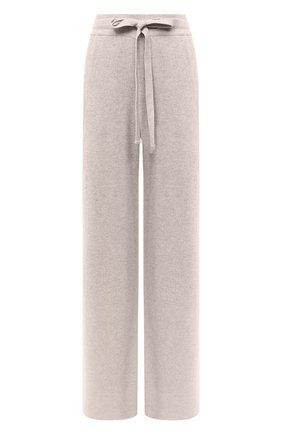 Женские брюки NANUSHKA бежевого цвета, арт. 0NI_BEIGE_RECYCLED CASHMERE KNIT   Фото 1
