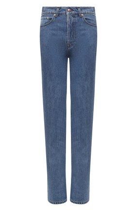 Женские джинсы NANUSHKA синего цвета, арт. CH0_MEDIUM BLUE_RIGID DENIM   Фото 1