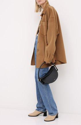 Женские джинсы NANUSHKA синего цвета, арт. CH0_MEDIUM BLUE_RIGID DENIM   Фото 2