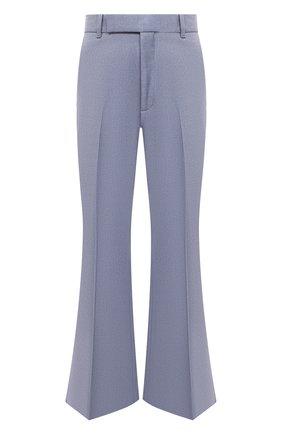 Женские брюки GUCCI синего цвета, арт. 627868/Z798C | Фото 1