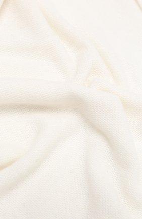 Мужские шерстяной шарф ALLUDE белого цвета, арт. 205/11241 | Фото 2