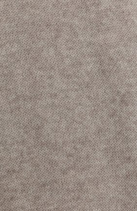 Мужские шерстяной шарф ALLUDE бежевого цвета, арт. 205/11241 | Фото 2