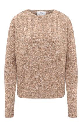 Женская свитер ALLUDE коричневого цвета, арт. 205/62003 | Фото 1