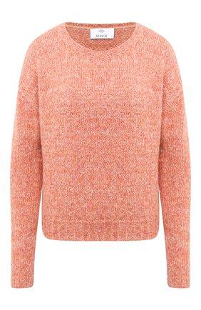 Женский свитер ALLUDE оранжевого цвета, арт. 205/62003 | Фото 1