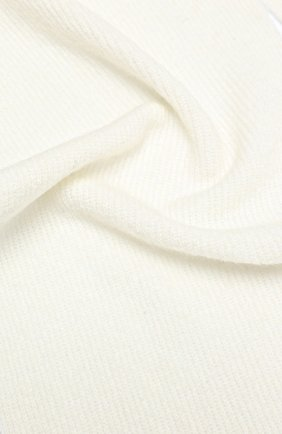 Мужские шарф ALLUDE белого цвета, арт. 205/65031 | Фото 2