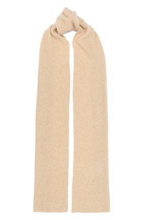 Женский шарф ALLUDE бежевого цвета, арт. 205/65031 | Фото 1