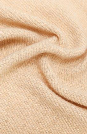 Женский шарф ALLUDE бежевого цвета, арт. 205/65031 | Фото 2