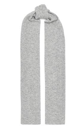 Мужские шарф ALLUDE серого цвета, арт. 205/65031 | Фото 1